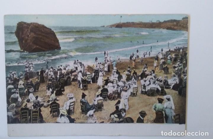 BIARRIZ - SIGLO XIX PLAYA (Postales - España - Pais Vasco Antigua (hasta 1939))