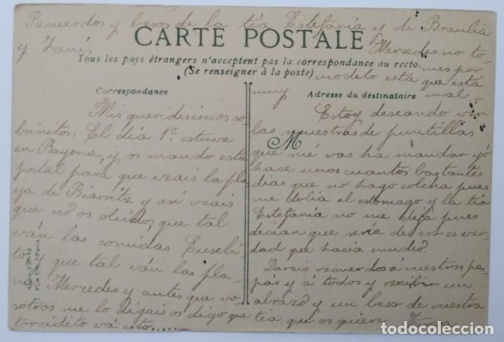 Postales: BIARRIZ - SIGLO XIX PLAYA - Foto 2 - 194110993