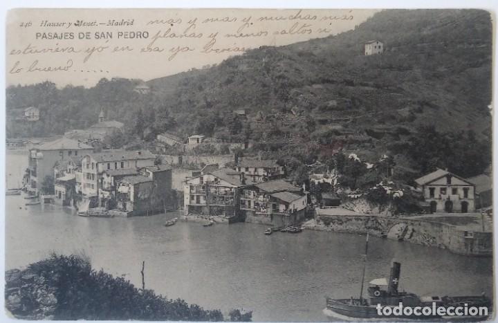 GUIPUZCOA- PASAJES DE SAN PEDRO (Postales - España - Pais Vasco Antigua (hasta 1939))