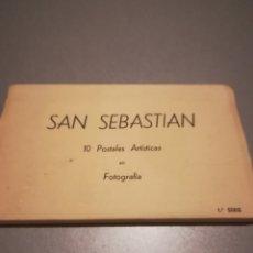 Postales: 10 POSTALES SAN SEBASTIÁN. Lote 194134101