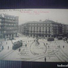 Postales: BILBAO-PLAZA DE LA ESTACIÓN( L.ROISIN). Lote 194173812