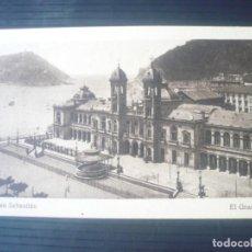 Postales: SAN SEBASTIÁN-EL GRAN CASINO. Lote 194204462