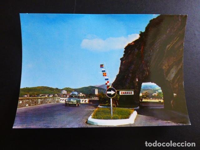 ZARAUZ GUIPUZCOA ENTRADA A LA VILLA (Postales - España - País Vasco Moderna (desde 1940))