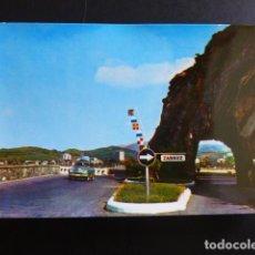 Postales: ZARAUZ GUIPUZCOA ENTRADA A LA VILLA. Lote 194226270