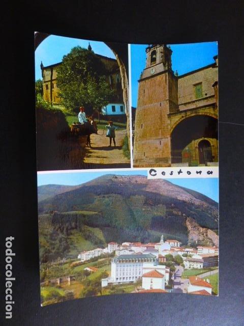 CESTONA GUIPUZCOA VISTAS PARCIALES (Postales - España - País Vasco Moderna (desde 1940))