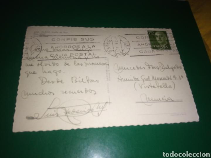 Postales: Antigua postal de Bilbao. Muelle de Ripa. Años 60 - Foto 2 - 194237366