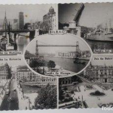 Postales: BILBAO- VISTAS VARIADAS. Lote 194285668