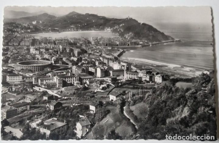 SAN SEBASTIAN VISTA GENERAL DESDE ULIA (Postales - España - País Vasco Moderna (desde 1940))