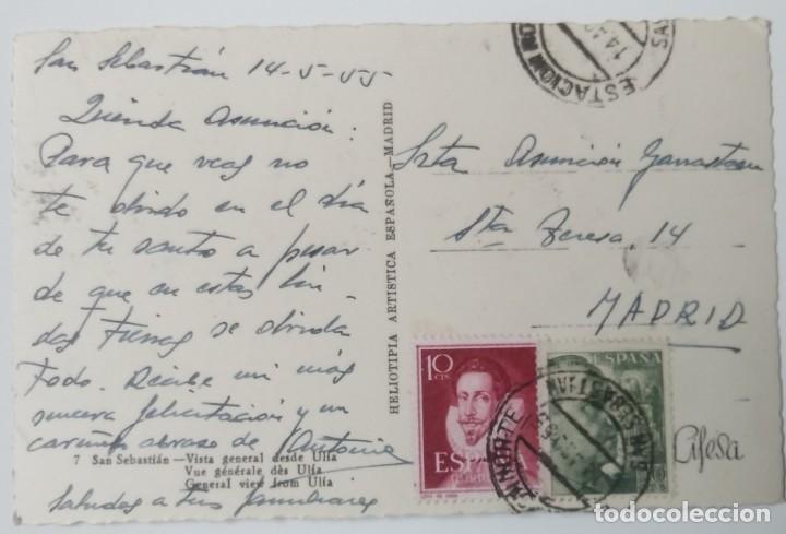 Postales: SAN SEBASTIAN VISTA GENERAL DESDE ULIA - Foto 2 - 194287275