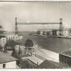 Postales: VIZCAYA PORTUGALETE PUENTE VIZCAYA SIN ESCRIBIR. Lote 194322296