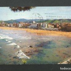 Postales: POSTAL CIRCULADA - ZARAUZ 3 - LA PLAYA - GUIPUZCOA - EDITA MANIPEL. Lote 194525133