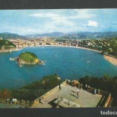 Postales: POSTAL CIRCULADA - SAN SEBASTIAN 118 - VISTA AEREA DESDE EL IGUELDO - EDITA FOURNIER. Lote 194525333