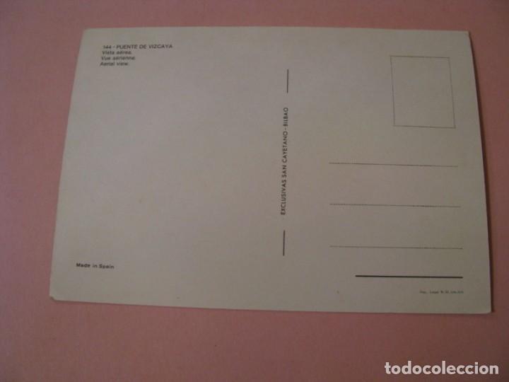 Postales: PUENTE DE VIZCAYA. EXCLUSIVAS SAN CAYETANO. SIN CIRCULAR. - Foto 2 - 194526822