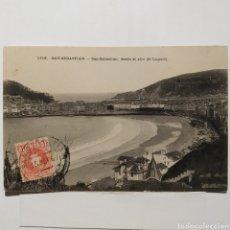 Postales: POSTAL 1113 - SAN SEBASTIÁN, DESDE EL ALTO DE LUGARIZ, CIRCULADA AÑO 1907. Lote 194641326