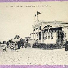 Postales: ANTIGUA POSTAL N°107 DE SAN SEBASTIÁN, MONTE UTIA - TIRO DE PICHON. EDITORIAL MAYOR HERMANOS. Lote 194648060