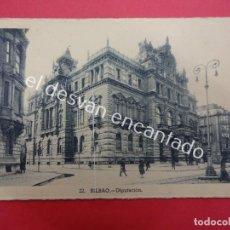 Postales: BILBAO. DIPUTACIÓN. Lote 194715380