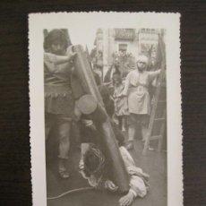 Postales: VALMASEDA-PROCESION-POSTAL FOTOGRAFICA ANTIGUA-(67.887). Lote 194726430