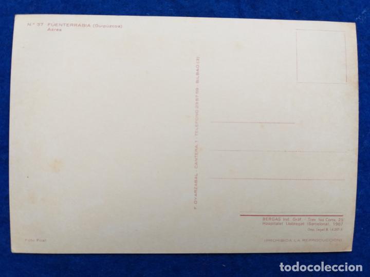 Postales: POSTAL FUENTERRABIA. VISTA AEREA. NUMERO 37. 1967 - Foto 2 - 194745418
