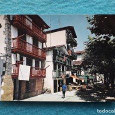 Postales: FUENTERRABÍA. BARRIO DE PESCADORES DE LA MAGDALENA. AÑO 1969.. Lote 194758041