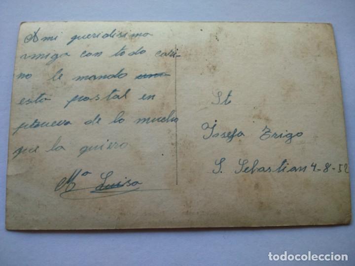 Postales: POSTAL -- SAN SEBASTIAN - PLAYA DE LA CONCHA -- ESCRITA -- - Foto 2 - 194777297