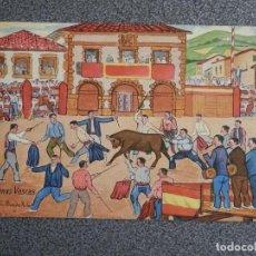 Postales: ESCENAS VASCAS ILUSTRADOR L BOADA POSTAL ANTIGUA. Lote 194903781