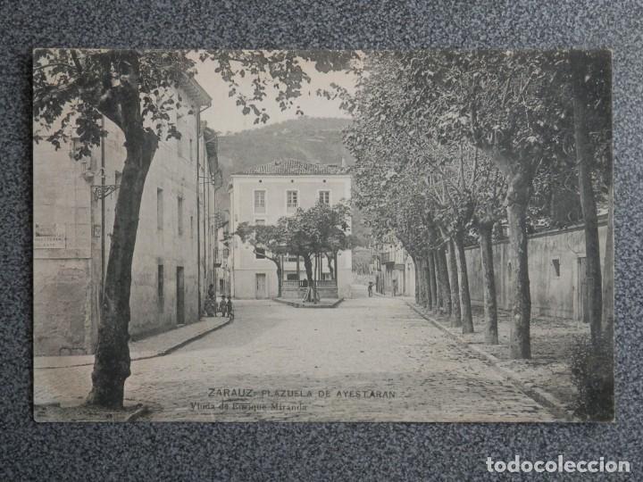 ZARAUZ LOTE DOS POSTALES ANTERIORES A 1905 (Postales - España - Pais Vasco Antigua (hasta 1939))