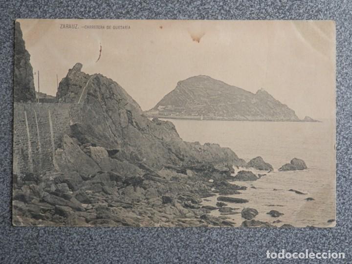Postales: ZARAUZ LOTE DOS POSTALES ANTERIORES A 1905 - Foto 3 - 194903878
