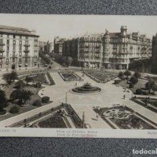 Postales: BILBAO PLAZA DE FEDERICO MOYUA POSTAL FOTOGRÁFICA ANTIGUA. Lote 194903980
