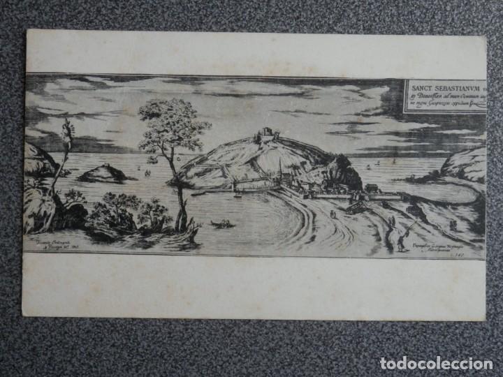 Postales: SAN SEBASTIÁN LOTE 18 POSTALES MUSEO SAN TELMO - UNA MUY RARA FOTOGRÁFICA - Foto 5 - 194904075