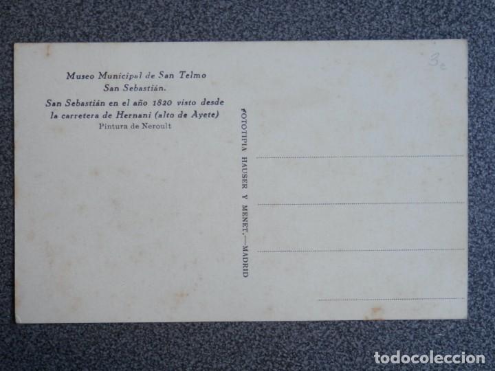Postales: SAN SEBASTIÁN LOTE 18 POSTALES MUSEO SAN TELMO - UNA MUY RARA FOTOGRÁFICA - Foto 20 - 194904075