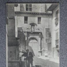 Postales: SAN SEBASTIÁN ANTIGUO CONVENTO DE SAN TELMO - POSTAL ANTIGUA CIRCULADA EN 1908. Lote 194904121