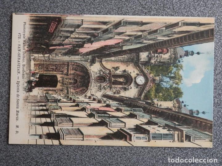 Postales: SAN SEBASTIÁN BONITO LOTE DE 10 POSTALES ANTIGUAS M. D. - Foto 2 - 194904166