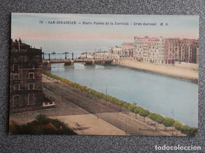 Postales: SAN SEBASTIÁN BONITO LOTE DE 10 POSTALES ANTIGUAS M. D. - Foto 4 - 194904166