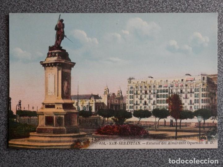 Postales: SAN SEBASTIÁN BONITO LOTE DE 10 POSTALES ANTIGUAS M. D. - Foto 6 - 194904166