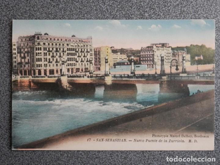 Postales: SAN SEBASTIÁN BONITO LOTE DE 10 POSTALES ANTIGUAS M. D. - Foto 10 - 194904166