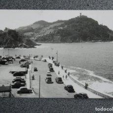 Postales: SAN SEBASTIÁN INTERESANTE LOTE DE 15 POSTALES FOTOGRÁFICAS UNA MUESTRARIO DE ARCHIVO ANTIGUAS. Lote 194914270
