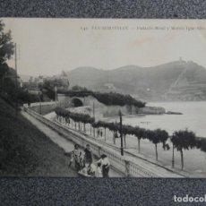Postales: SAN SEBASTIÁN LOTE DE 11 POSTALES ANTIGUAS. Lote 194914415