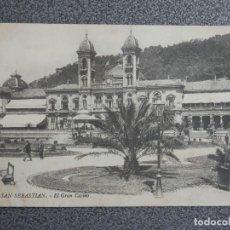 Postales: SAN SEBASTIÁN HOTEL EZCURRA Y OTRAS DOS POSTALES ANTIGUAS. Lote 194914913
