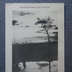 Postales: VITORIA LOTE DE 3 POSTALES ANTIGUAS. Lote 194943747