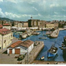 Postales: POSTAL SAN SEBASTIAN, VISTA DEL PUERTO, AÑO 1963 - DOMINGUEZ, FOTO ALFONSO. Lote 194976201