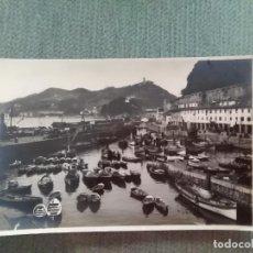 Postales: POSTAL SAN SEBASTIAN PUERTO DE PESCADORES. Lote 194992578