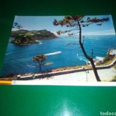 Postales: ANTIGUA POSTAL DE SAN SEBASTIÁN. VISTA DESDE EL MONTE URGULL . AÑOS 60. Lote 195020808