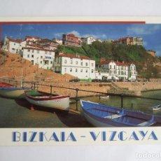Postales: POSTAL VIZCAYA -PUERTO VIERJO DE ALGORTA - GETXO - EDICIONES AM 1820 - SIN CIRCULAR. Lote 195034808