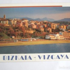 Postales: POSTAL VIZCAYA - PLAYA EREAGA - GETXO - EDICIONES AM 1824 - SIN CIRCULAR. Lote 195034877