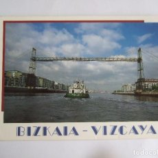Postales: POSTAL VIZCAYA - PUENTE DE VIZCAYA - PORTUGALETE GETXO - EDICIONES AM 1822 - SIN CIRCULAR. Lote 195034928