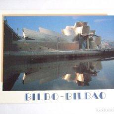 Postales: POSTAL VIZCAYA - BILBAO - MUSEO GUGGENHEIM - EDICIONES AM 1817 - SIN CIRCULAR. Lote 195035040