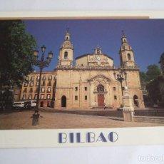 Postales: POSTAL VIZCAYA - BILBAO - IGLESIA DE SAN NICOLAS - EDICIONES AM 1302 - SIN CIRCULAR. Lote 195035122