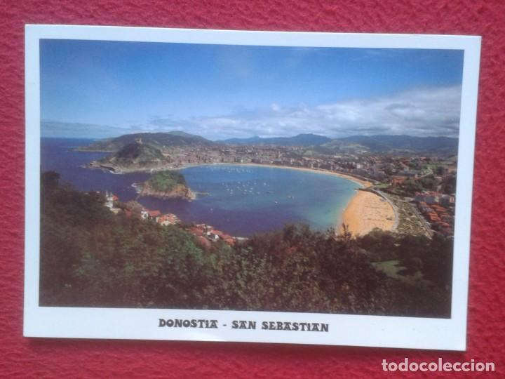 POSTAL POST CARD DONOSTIA SAN SEBASTIÁN EUSKADI Nº 46 VISTA GENERAL DESDE EL MONTE IGUELDO, MANIPEL (Postales - España - País Vasco Moderna (desde 1940))
