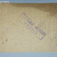 Postales: TARJETA POSTAL, CENSURA MILITAR MADRID - CIRCULADA DE ARGENTINA A MADRID AÑO 1940... L707. Lote 195091047