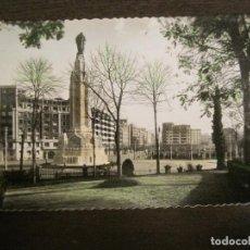 Postales: BILBAO-MONUMENTO AL SAGRADO CORAZON DE JESUS-ED·GARCIA GARRABELLA-POSTAL ANTIGUA-(68.096). Lote 195139430